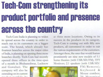 Tech-Com strengthening its product portfolio and presence accross country