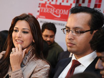 Mr. Sandeep Kedia and Sonali Bendre